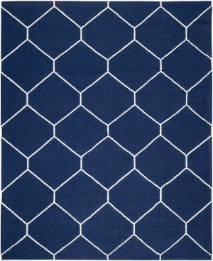 Safavieh Dhurries DHU635D Navy / Ivory Area Rug