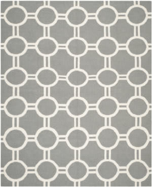 Safavieh Dhurries DHU636B Grey / Ivory Area Rug