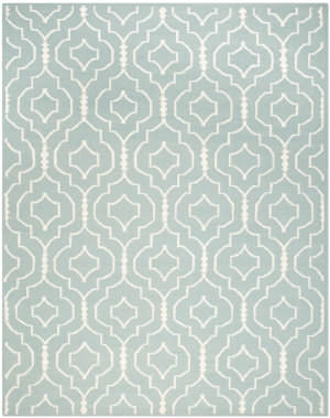 Safavieh Dhurries DHU637C Light Blue / Ivory Area Rug