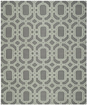 Safavieh Dhurries DHU860A Grey / Light Blue Area Rug