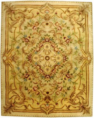 Safavieh Empire EM823A Beige / Light Gold Area Rug