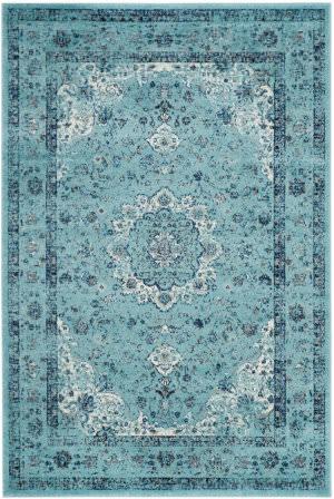 Safavieh Evoke Evk220e Light Blue Area Rug