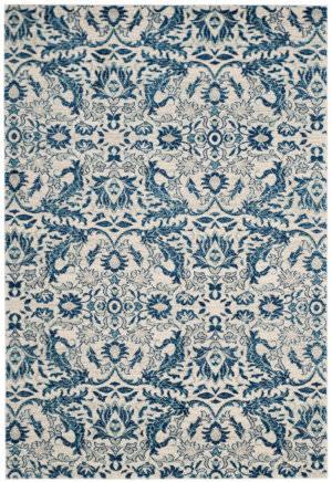 Safavieh Evoke Evk238c Ivory - Blue Area Rug