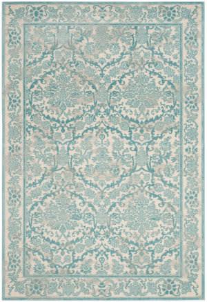 Safavieh Evoke Evk242c Ivory - Light Blue Area Rug
