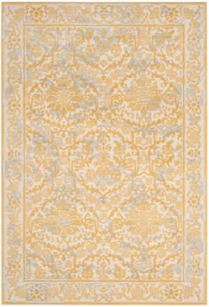 Safavieh Evoke Evk242s Ivory - Gold Area Rug
