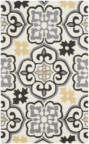 Safavieh Four Seasons Frs230a Grey - Ivory Area Rug
