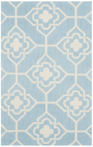 Safavieh Four Seasons Frs233g Light Blue - Ivory Area Rug