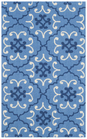 Safavieh Four Seasons Frs234a Blue - Ivory Area Rug