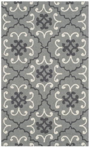 Safavieh Four Seasons Frs234b Grey - Ivory Area Rug