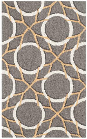 Safavieh Four Seasons Frs238b Grey - Ivory Area Rug