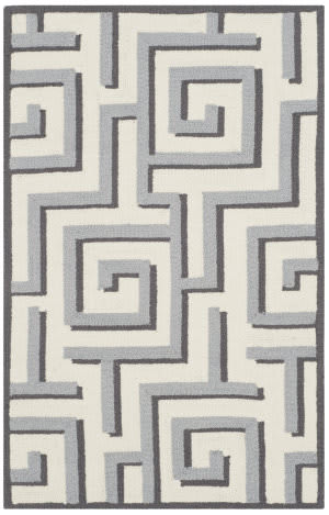 Safavieh Four Seasons Frs240m Ivory - Grey Area Rug