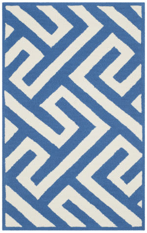 Safavieh Four Seasons Frs241k Ivory - Blue Area Rug