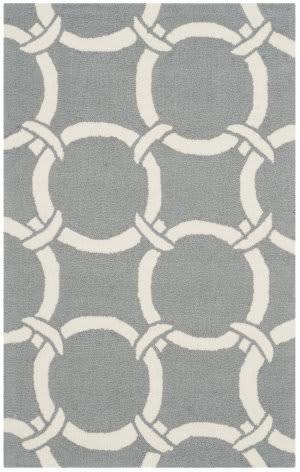 Safavieh Four Seasons Frs243b Grey - Ivory Area Rug