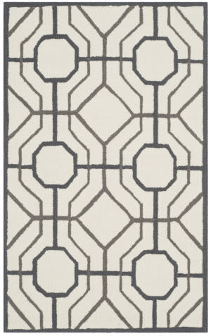 Safavieh Four Seasons Frs244p Ivory - Black Area Rug