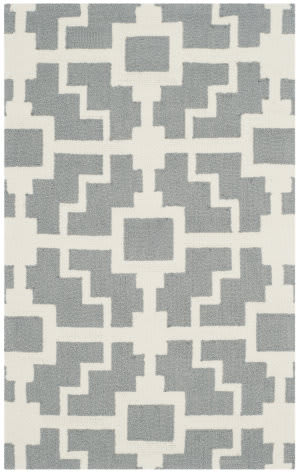 Safavieh Four Seasons Frs245b Grey - Ivory Area Rug