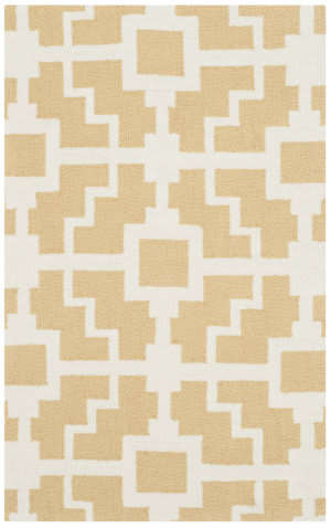 Safavieh Four Seasons Frs245d Gold - Ivory Area Rug