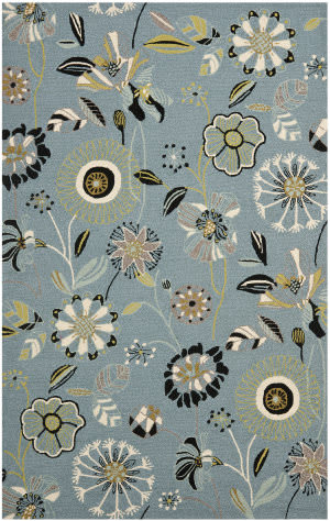 Safavieh Four Seasons Frs482b Blue / Multi Area Rug