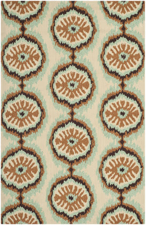 Safavieh Four Seasons FRS486C Beige / Green Area Rug