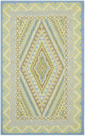 Safavieh Four Seasons FRS490H Blue / Yellow Area Rug