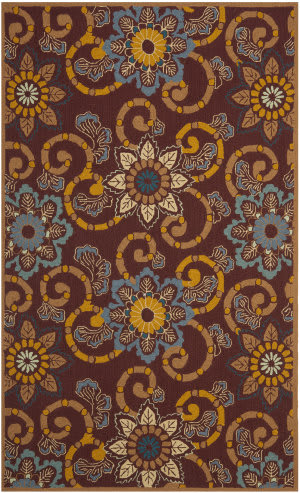 Safavieh Four Seasons Frs513b Burgundy Area Rug