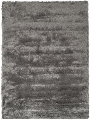 Safavieh Faux Sheep Skin Fss115d Grey Area Rug