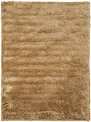 Safavieh Faux Sheep Skin Fss115e Camel Area Rug