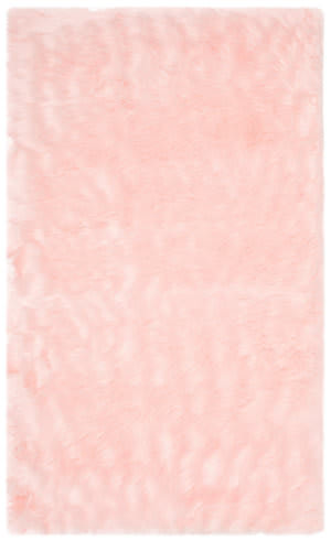 Safavieh Faux Sheep Skin Fss235g Pink Area Rug