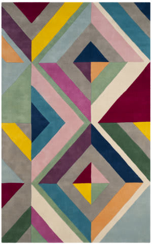 Safavieh Fifth Avenue Ftv112a Grey - Multi Area Rug