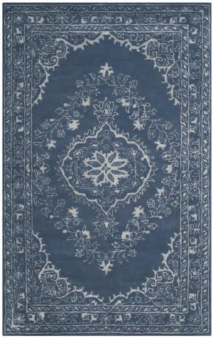 Safavieh Glamour Glm533b Blue Area Rug