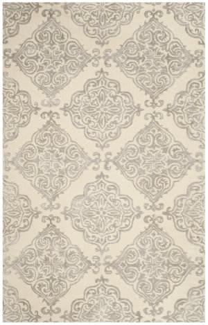 Safavieh Glamour Glm568c Ivory - Silver Area Rug