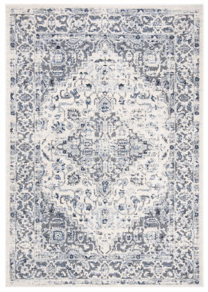 Safavieh Harbor Hbr142c Blue - Creme Area Rug