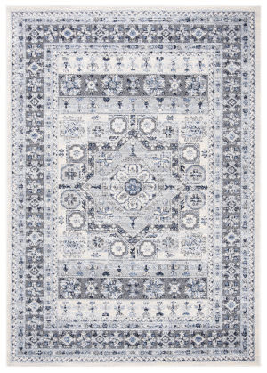 Safavieh Harbor Hbr149c Blue - Creme Area Rug