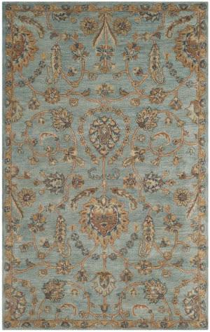 Safavieh Heritage Hg274a Light Blue - Multi Area Rug