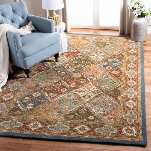 Safavieh Heritage HG316B Green - Red Area Rug
