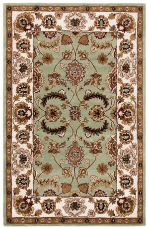 Safavieh Heritage HG453A Light Green - Ivory Area Rug