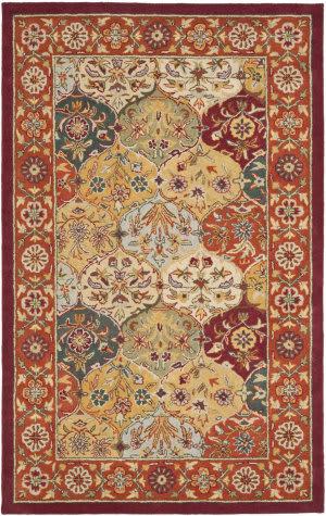 Safavieh Heritage HG510B Multi - Red Area Rug