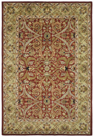 Safavieh Heritage HG644B Red - Gold Area Rug