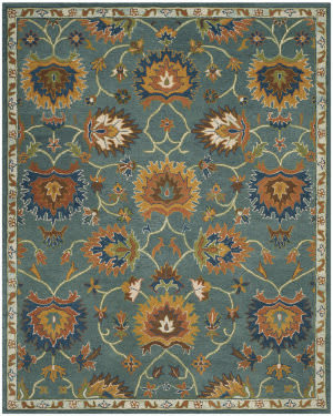 Safavieh Heritage Hg651a Light Blue Area Rug