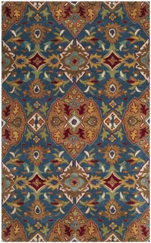 Safavieh Heritage Hg653a Camel - Blue Area Rug