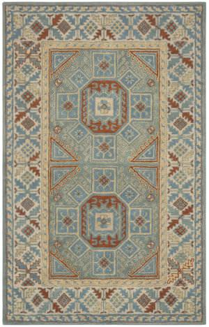 Safavieh Heritage Hg743m Blue - Beige Area Rug