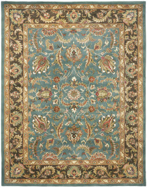 Safavieh Heritage HG812B Blue / Brown Area Rug