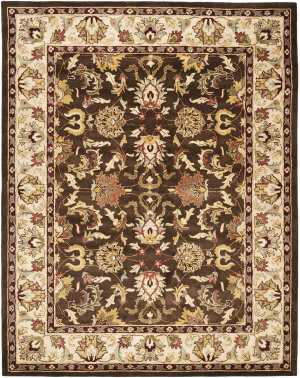 Safavieh Heritage Hg818a Brown / Beige Area Rug