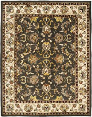 Safavieh Heritage Hg819a Black / Ivory Area Rug