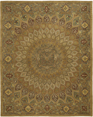 Safavieh Heritage Hg914a Light Brown / Grey Area Rug