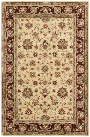 Safavieh Heritage Hg965a Ivory / Red Area Rug