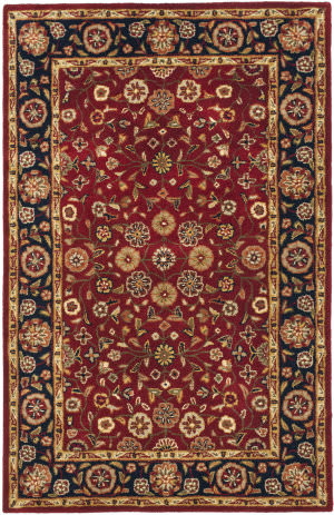 Safavieh Heritage Hg966a Red / Navy Area Rug