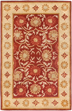 Safavieh Heritage HG970A Red - Beige Area Rug
