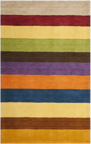 Safavieh Himalaya Him584a Yellow - Multi Area Rug
