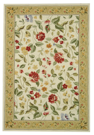 Rugstudio Sample Sale 49884R Ivory / Beige Area Rug