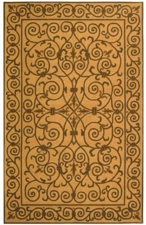 Safavieh Chelsea HK11G Yellow / Light Green Area Rug